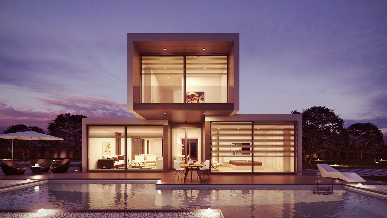 Wizualizacja domku jednorodzinnego