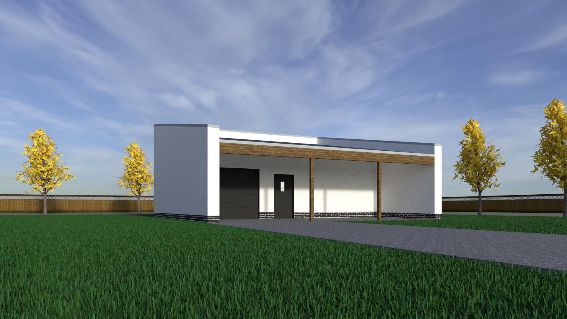 Projekt garażu Toruń