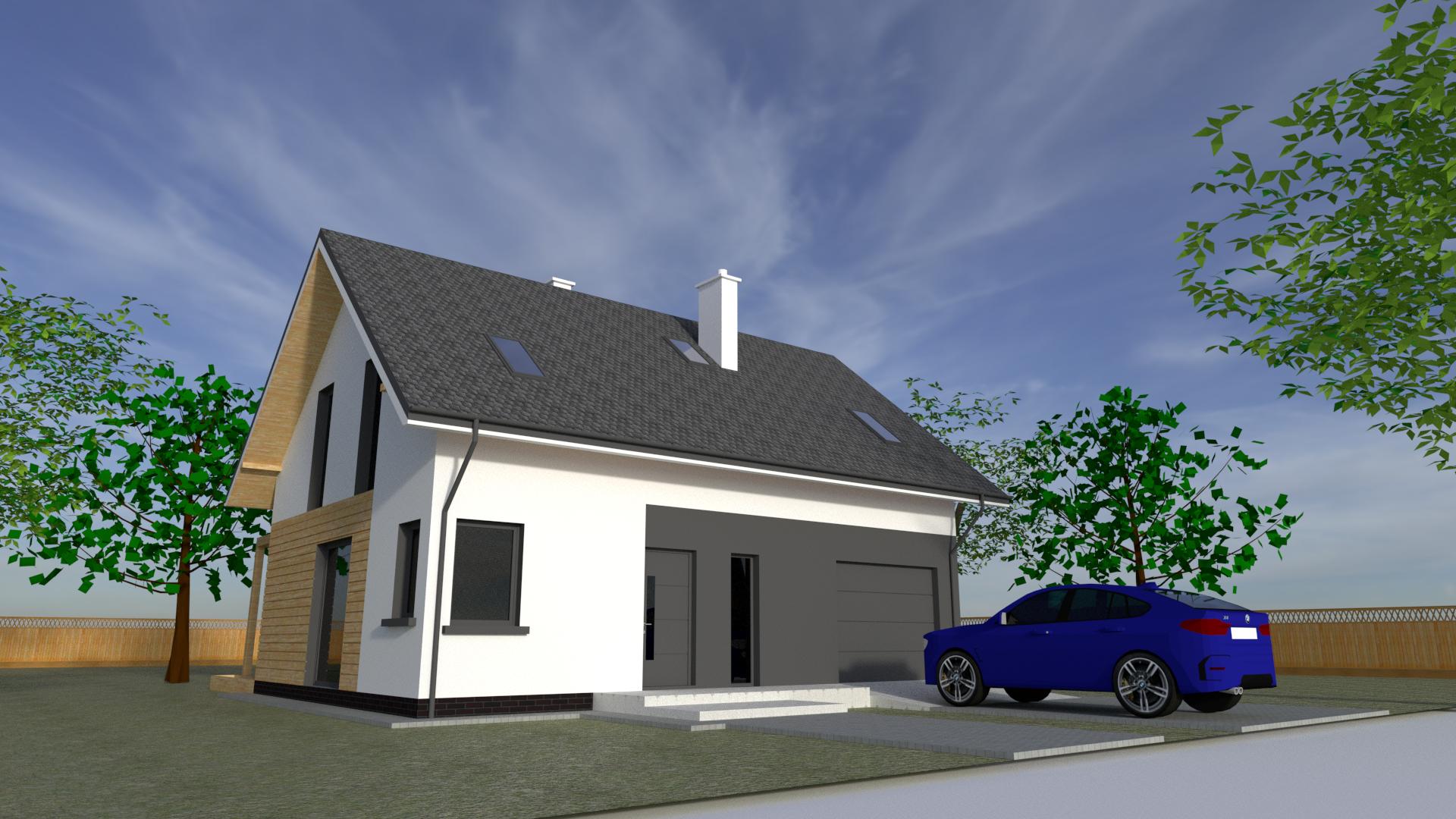 Projekt domu szkieletowego Toruń
