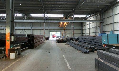 Konstrukcja hali produkcyjnej